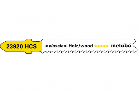 5 lames de scies sauteuses, bois, classic, 66 mm/progr. (623920000)