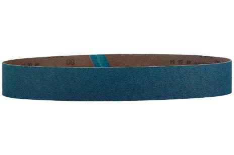 10 bandes abrasives 40 x 760 mm, P60, corindon de zirconium, meuleuse de tubes (626305000)
