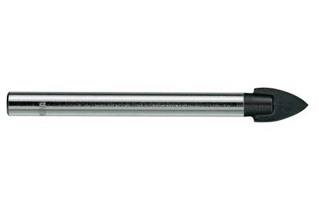 Foret pour verre en carbure 6 x 75 mm (627245000)