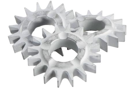 Fraises étoiles à denture pointue (set = 15 pièces) (628211000)