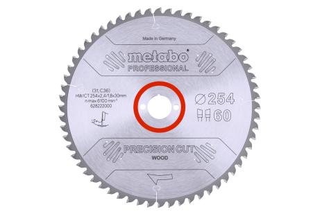 Lame de scie circulaire HW/CT 250 x 30, 60 WZ 15° (628049000)