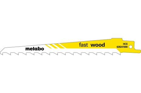 2 lames de scie sabre « fast wood » 150 x 1,25 mm (628240000)