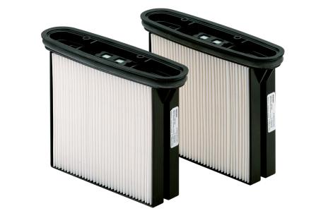 Jeu = 2 cassettes de filtres HEPA, polyester (630326000)