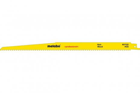 5 lames de scies sabres, bois, profes., 300 x 1,25 mm (631472000)