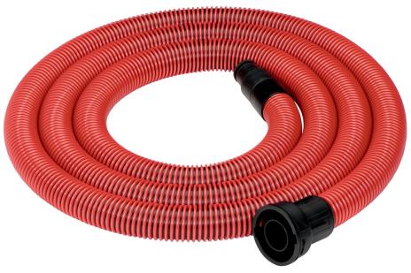 Flexible d'aspirationØ-35mm,L 4,0 m,A-58/25/35/45mm, antistatique (631370000)