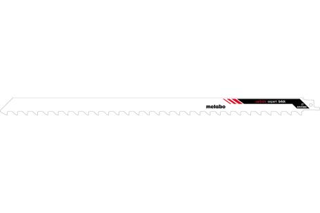 1 lame de scie sabre, béton alvéolé, expert; 400x1,5 mm (631819000)