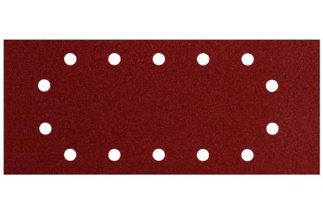 10 feuilles abrasives auto-agrippantes 115 x 280 mm, P 40, B+M, pour ponceuse vibrante (624491000)