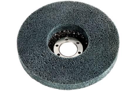 5 plateaux abrasifs compacts en fibres « Unitized » 125 x 22,23 mm, meuleuses d'angle (626417000)