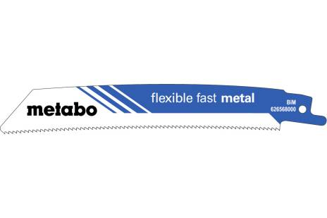 5 lames de scie sabre « flexible fast metal » 150 x 1,1 mm (626568000)