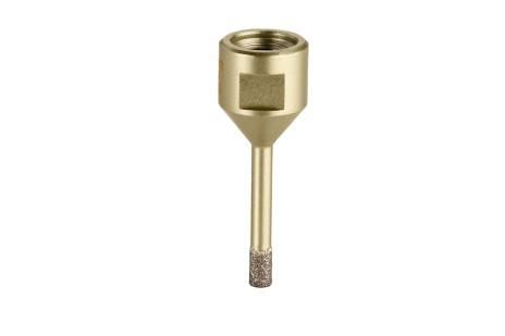 Couronne diamantée pour carrelage «Dry», 6 mm, M14 (628300000)