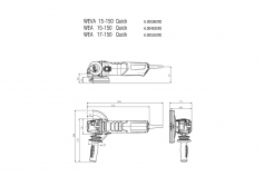 WEVA 15-150 Quick (600506000) Meuleuses d'angle