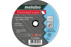 Flexiarapid super 230 x 1,9 x 22,23 inox, TF 41 (616228000)