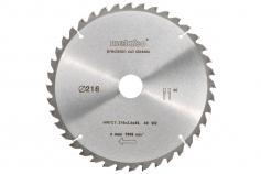 Lame de scie circulaire HW/CT 216x30, 40 denture en biseau alterné 5°nég.,classic (628060000)