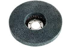 Plateau abrasif compact en fibres «Unitized» 125 x 22,23 mm, pour meuleuse d'angle (626368000)