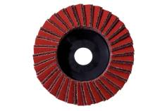 Plateau abrasif à lamelles combiné 125 mm, grossier, meuleuse d'angle (626369000)
