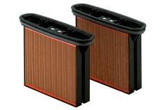 2 cassettes de filtres, cellulose, classe de poussière M (631933000)