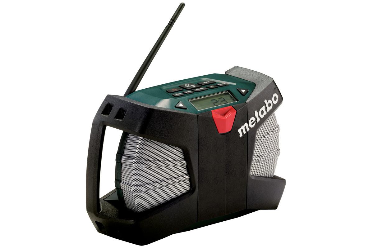 powermaxx rc 602113000 radio de chantier sans fil outillage lectroportatif metabo. Black Bedroom Furniture Sets. Home Design Ideas