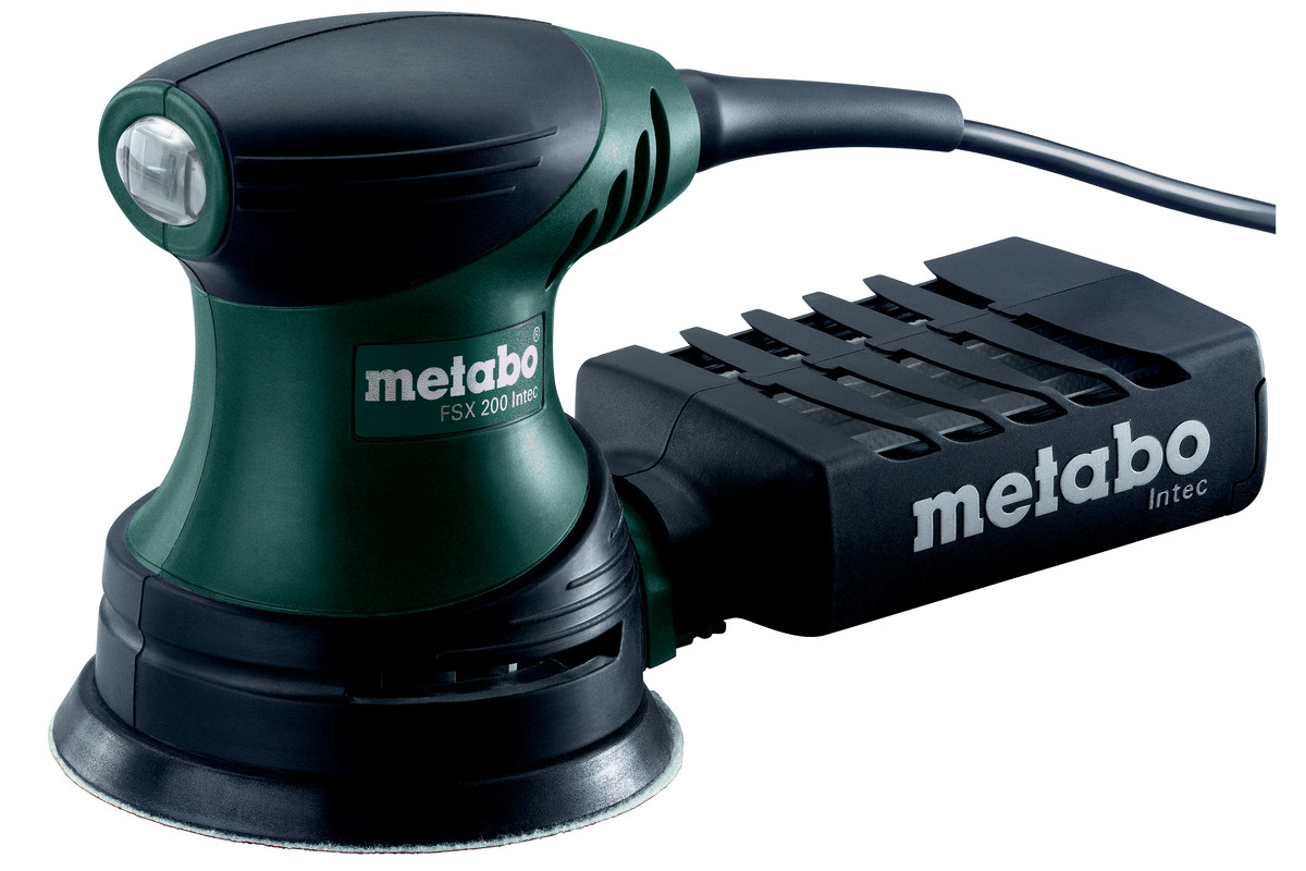 ponceuse excentrique metabo