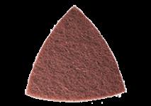 Tépőzáras csiszoló fátyolszövetek (vlies), szemcsézet
