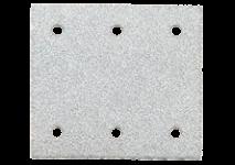 Tépőzáras csiszolólapok, 103 x 115 mm, 6 lyukkkal, tépőzárral