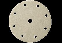 Tépőzáras csiszolólapok, átmérő: 150 mm, 9 lyuk