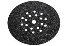 Tépőzáras csiszolólapok, 225 mm-es, 19 lyukas
