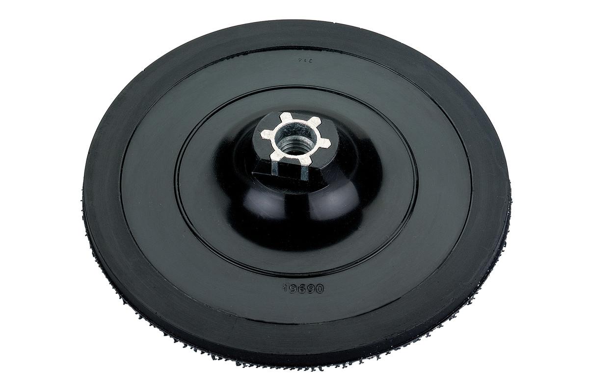 Tépőzáras támasztó tányér, 125 mm M14/ Pyramid (623300000)