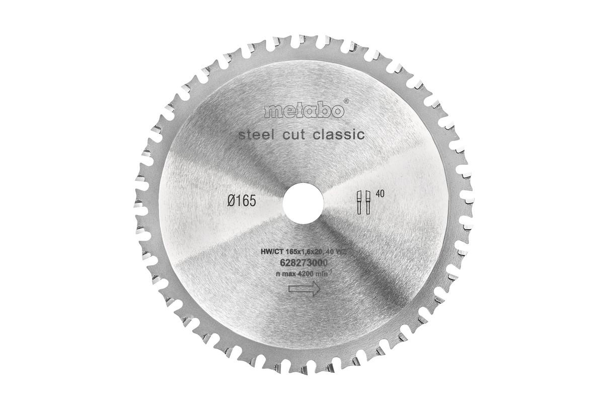 SteelCutClassic 165x20 Z40 FZFA/FZFA 4° (628273000)