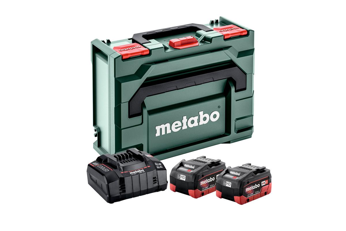 Alapkészlet 2 db LiHD 5.5 Ah + Metaloc (685077000)