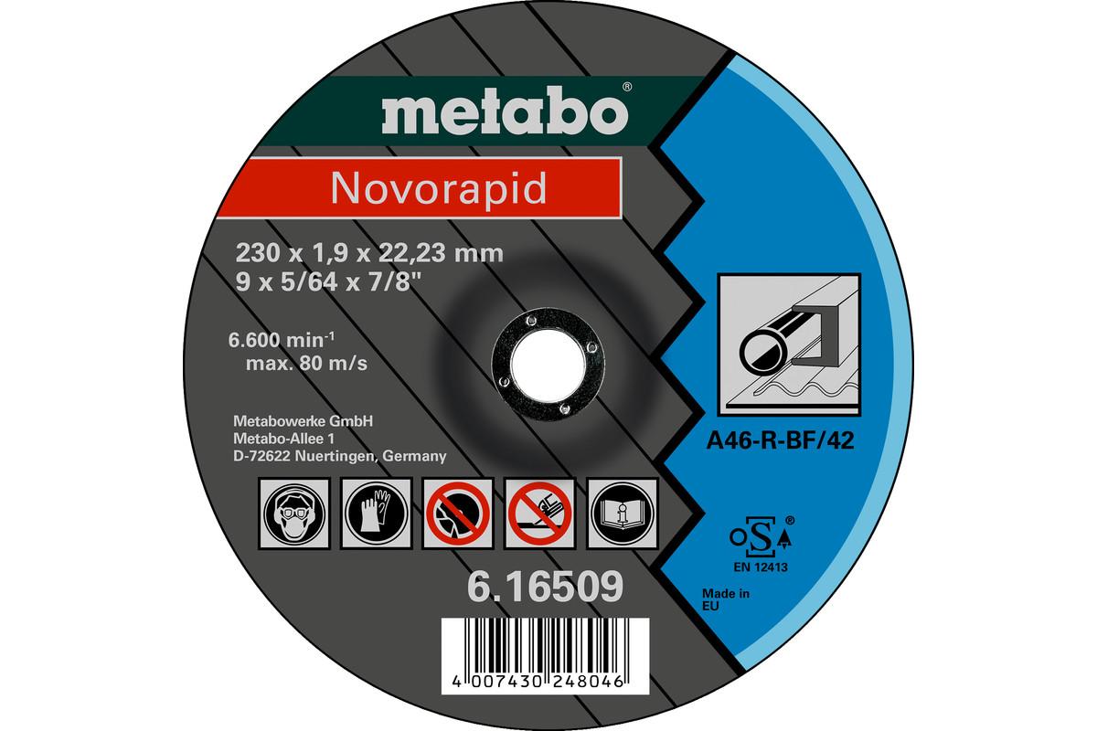 Novorapid 230 x 1,9 x 22,23 mm, acél, TF 42 (616509000)