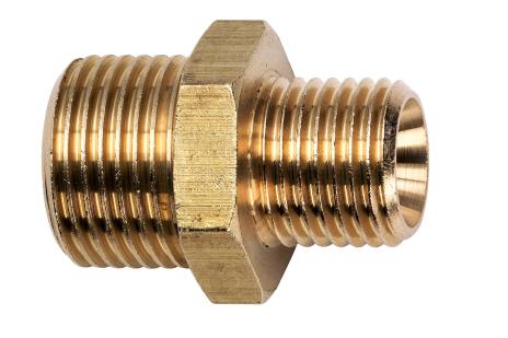 """Szűkítő dupla csővég, 1/8"""" k.m. x 1/4"""" k.m. (7808009247)"""