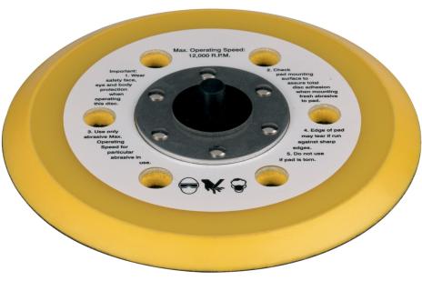 Pót csiszolótányér, alkalmazható a következőhöz: ES 7700 / DSX 150 (1319706247)