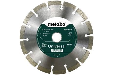 Gyémánt darabolótárcsa - SP - U, 180x22,23 mm (624309000)