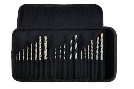 Fúrókészlet görgős vászon táskában SP, 20 db-os (626729000)