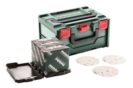 Metaloc csiszolóanyag-készlet, többszörös lyukasztással, 150, festék (626755000)