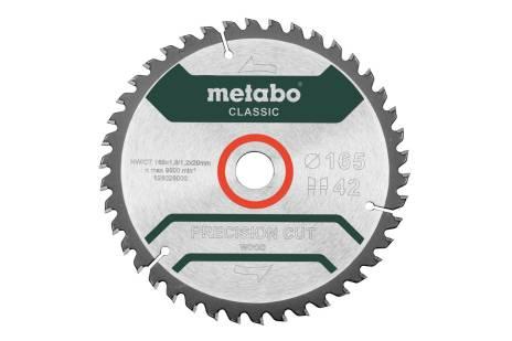 """Fűrészlap """"precision cut wood - classic"""""""", 165x20 Z42 WZ 5° (628026000)"""