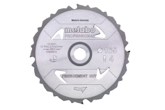 "Fűrészlap ""fibercement cut - professional"", 165x20 Z4 DFZ 5° (628289000)"