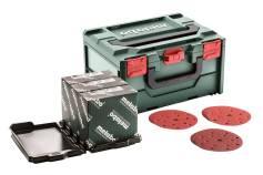 Metaloc csiszolóanyag-készlet, többszörös lyukasztással, 150, fa+fém (626756000)