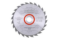 "Fűrészlap ""precision cut wood - professional"", 216x30, Z48 WZ 5° neg. (628041000)"
