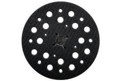 Csiszolótányér, 125 mm, többszörös lyukasztással, közepes, SXE 150 BL (630264000)