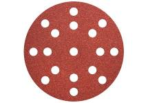 "Fogli abrasivi autoaderenti Ø 125 mm, ""multi-hole"""