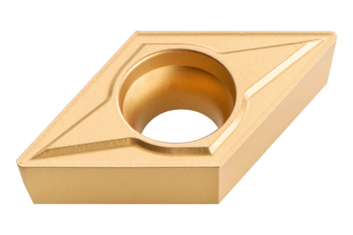 10 placchette rivoltabili in metallo duro smusso 45°; ISO: DCMT 11 T 304 (623560000)