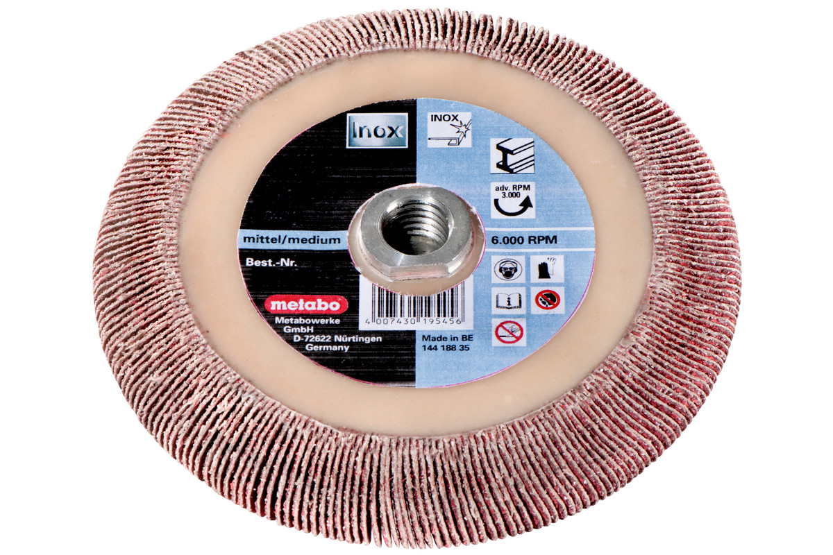 "Mola lamellare 125x8x5/8"" P 40 CER (626486000)"