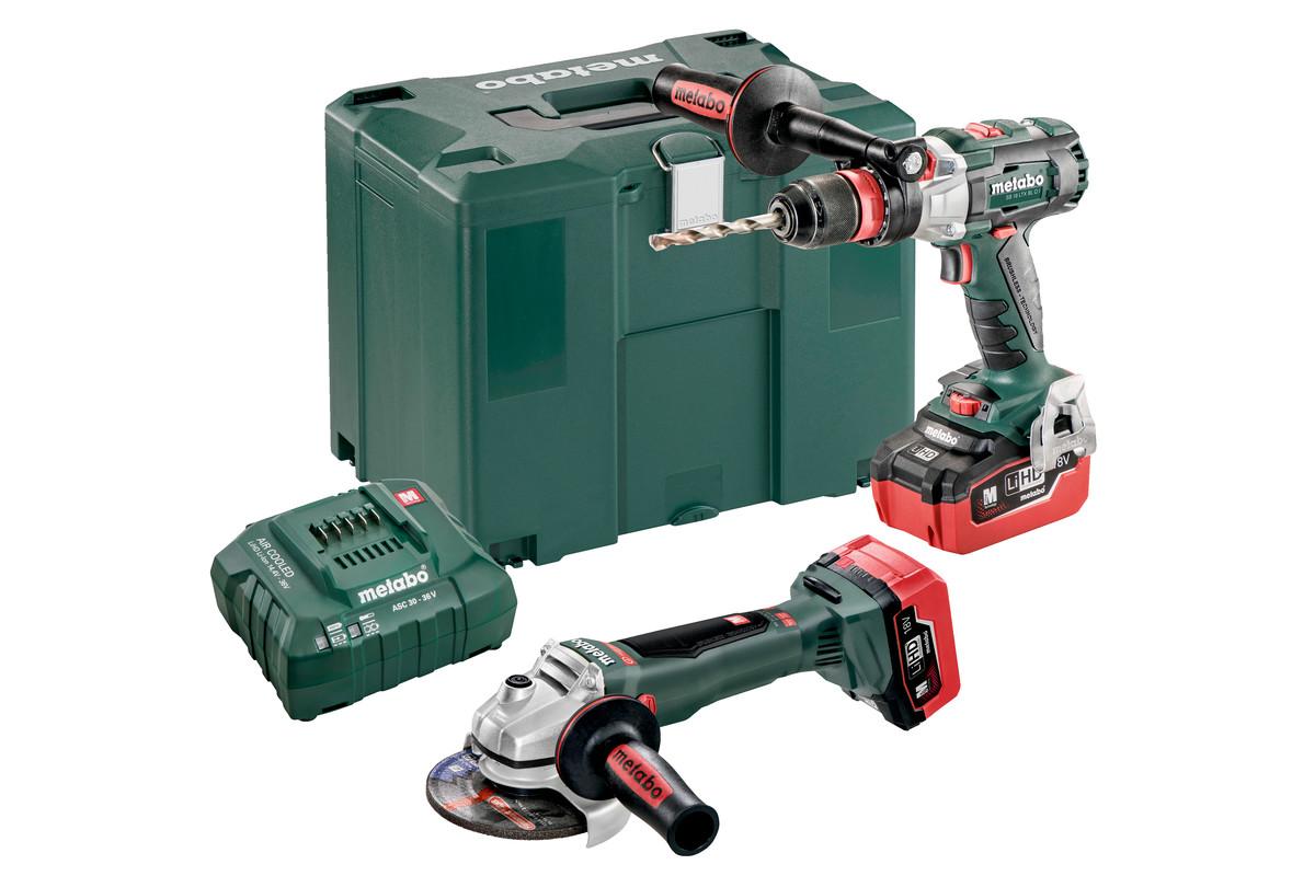 Combo Set 2.4.6 18 V BL LiHD (685095000) Macchine a batteria nel kit