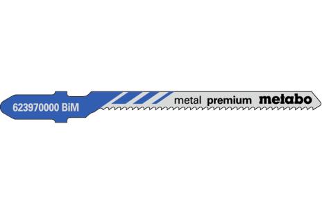 5 lame per seghetti alternativi, metallo, profess., 57/ 1.5 mm (623970000)