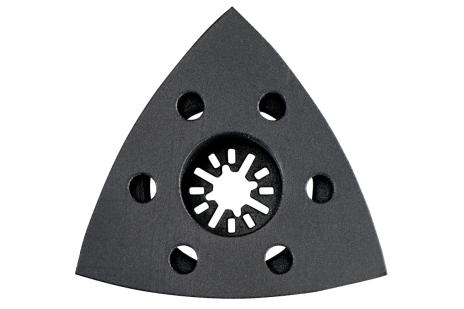 Piastra di levigatura triangolare 93 mm MT, con fissaggio autoaderente (626421000)