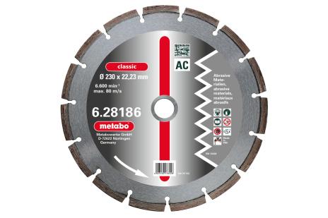 """Disco diamantato per troncare, 115x2,15x22,23mm, """"classic"""", """"AC"""", abrasivi (628182000)"""