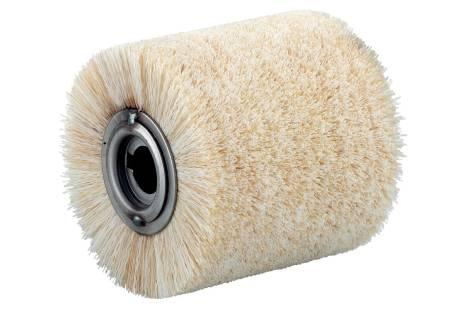 Spazzola circolare in fibre, 100x100 mm (623506000)