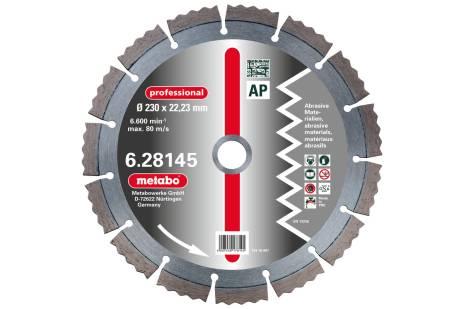 "Disco diamantato per troncare, 115x2,15x22,23mm, ""professional"", ""AP"", abrasivi (628141000)"