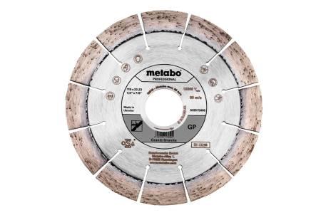 """Disco diamantato per troncare 115x22,23mm, """"GP"""", granito """"professional"""" (628575000)"""